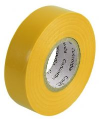 CONCORDIA TECHNOLOGIES AIT1920YELL SINGLE  Insulation Tape Yellow 19Mm X 20M